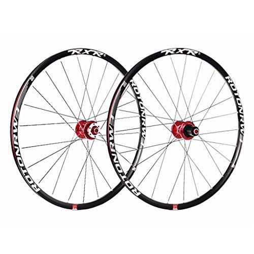 ZNND VTT 29 Pouces Wheels, Ultra Léger Vélo Alliage D'aluminium/Carbone Double Paroi Racing Jante...