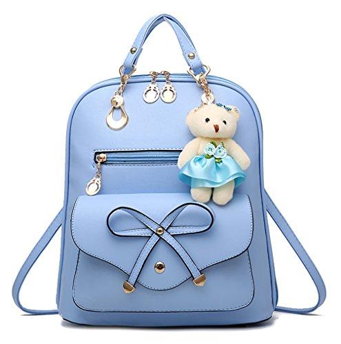 Respeedime , Damen Rucksackhandtasche Blau blau M himmelblau