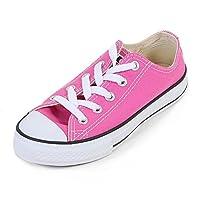 Converse Chuck Taylor All Star Seasonal Ox Junior Girls Trainer Mod Pink