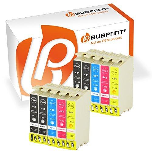 10 Druckerpatronen kompatibel für Epson T0441 T0442 T0443 T0444 für Epson Stylus...