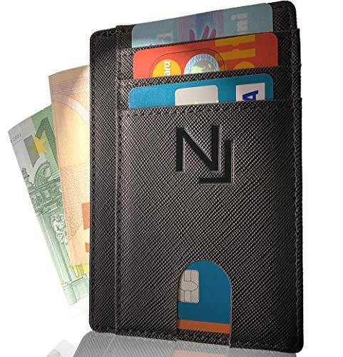 40d734134d592a Porta carte credito in pelle PU con blocco RFID NAILATI ® - Portafoglio  uomo - Porta. 10 Recensioni