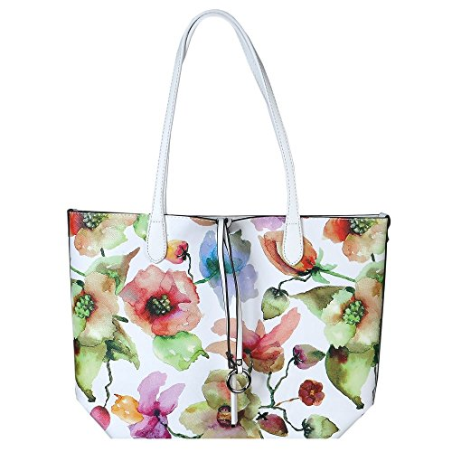 david-jones-calla-womens-reversible-casual-shoulder-bag-one-size-white-floral
