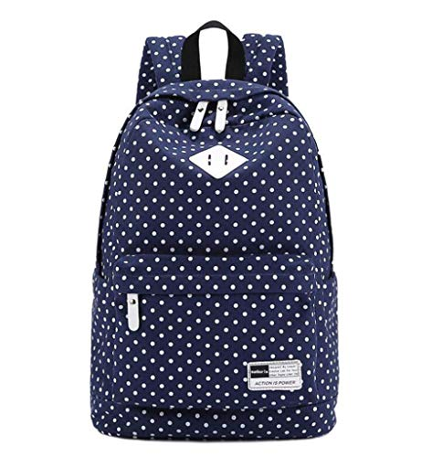 JYTBB Outdoor-Produkt/Modetasche Dot Casual Rucksack Canvas 14