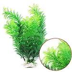 bismarckbeer Green Artificial Aquatic Plants Fish Tank Aquarium Water Plants Grass Landscape Decoration 6