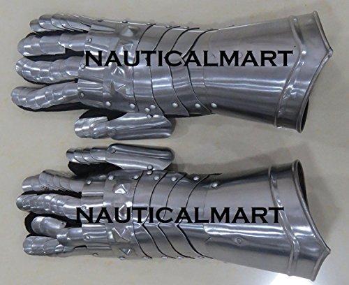 he Handschuhe Finger Armor Armour Mittelalter Schwert Fighting Battle Ready By Nauticalmart (Kostüme Gauntlet Handschuh)