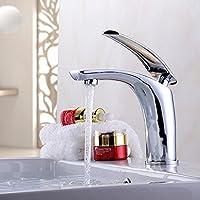 XXTT-Miscelatore lavabo Qualità Luo rame argento placcato rubinetto di lavabo Rubinetto del bagno