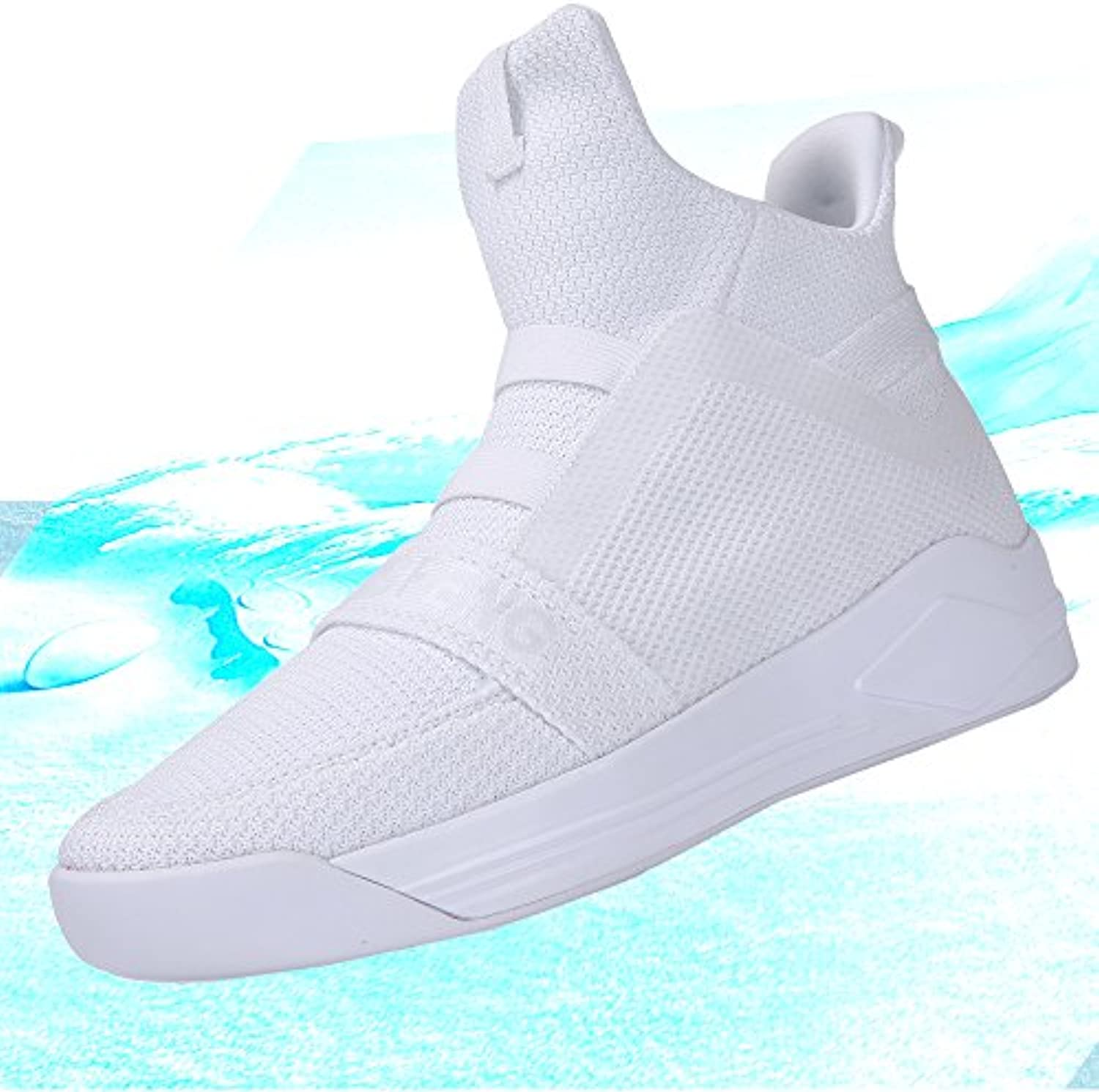 Soulsfeng Uomo Donna Stivali Casual Bthletic High Top Sneaker Mesh Bthletic Casual Shoes Traspirante Parent 3aff5c