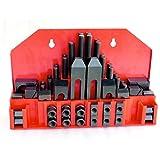 Spannpratzen Set 58-teilig M12 / 14 mm inkl. Wandhalterung