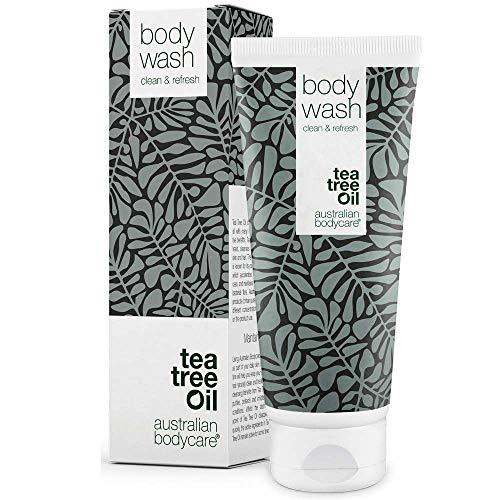 Australian Bodycare Body wash - Duschgel mit Natürliches Teebaumöl - Natürliches und sanftes Waschgel für die täglichen Körperpflege - feuchtigkeitsspendendes Duschgel - 100{535694b144bc160c3f88325794aa6b46db04c23aafb43dc38425a03a6c7945d4} vegan (200ml)
