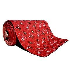 Idea Regalo - Passatoia rossa Natalizia buone feste 1x50mt per Natale tappeto negozio esterno