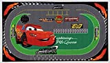 Disney Cars Racing rug Tappeto Arredo, Multicolore, 100 x 170 cm