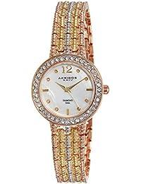 Akribos XXIV Reloj con movimiento cuarzo suizo Woman AK757TRI 30 mm