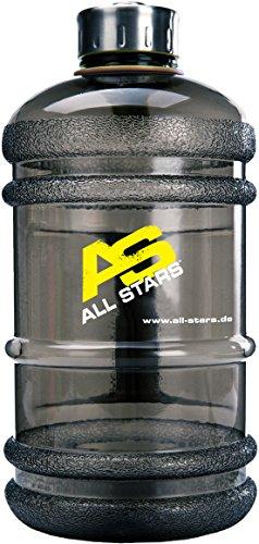 All Stars Drink Bottle 2.2 Liter, transparent schwarz
