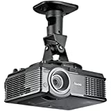 Suptek Universal Projector Ceiling Mount Bracket Black Projection Mount (PR01B)