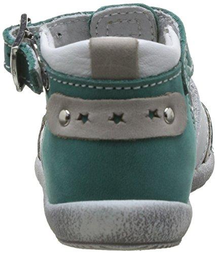 Little Mary Shoot, Chaussures premiers pas bébé garçon Vert (Icarus Végétal)
