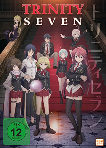 Trinity Seven - Gesamtedition: Episode 01-12 [3 DVDs]