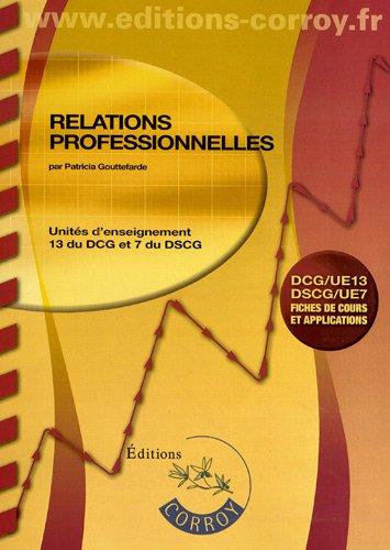 Relations professionnelles UE 13 du DCG ...