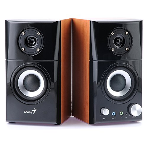 Genius SP-HF500A - Altavoces de Ordenador (14 W, MP3, 82 dB), Color...