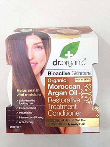 Dr Bio Huile d'Argan Marocaine Traitement Réparatrice Après-shampoing 200 ml