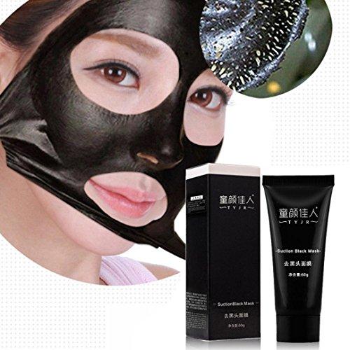 Ularma Aktivkohle Tiefenreinigung Gesichtsmaske Black Mud Akne Mitesser Entferner Peelings Maske Reinigungsmasken 60g