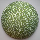 Bügelkissen 'klein' (NEUHEIT), perfekte Bügelhilfe für knifflige Stellen an Blusen, Hemden und vieles mehr. Optimale Form, 'DBGM' geschützt. (grün-geblümt).