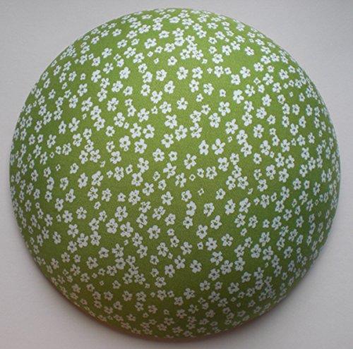 Bügelkissen Klein (Neuheit), Perfekte Bügelhilfe für knifflige Stellen an Blusen, Hemden und Vieles Mehr. Optimale Form,DBGM geschützt. (Grün-Geblümt).