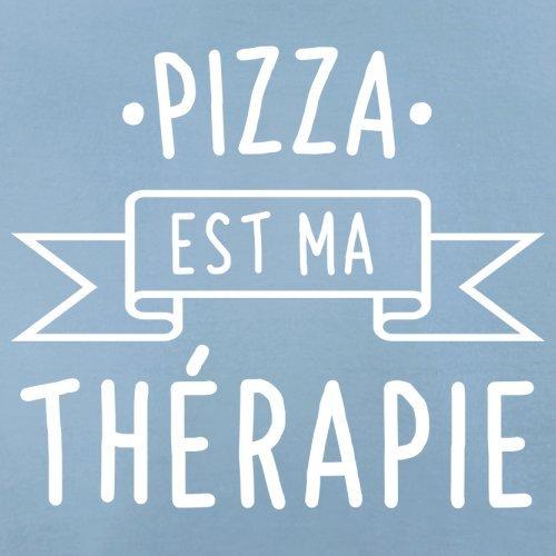 Une pizza est ma thérapie - Femme T-Shirt - 14 couleur Bleu Ciel