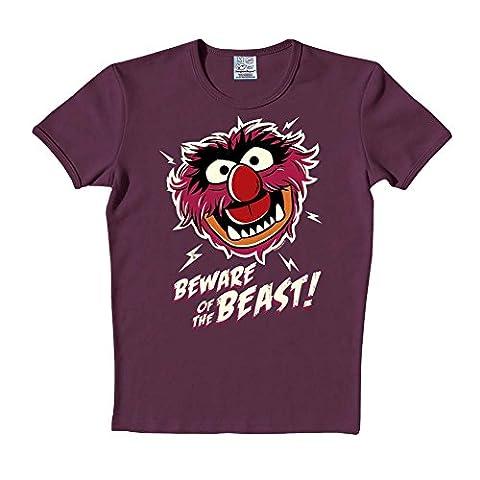 Muppets - Beware of the Beast purple - S