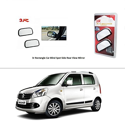 AutoStark 3R Rectangle Car Blind Spot Side Rear View Mirror for Maruti Suzuki Wagon R  available at amazon for Rs.285