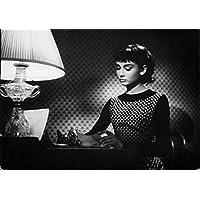 Reprint of Audrey Hepburn in the