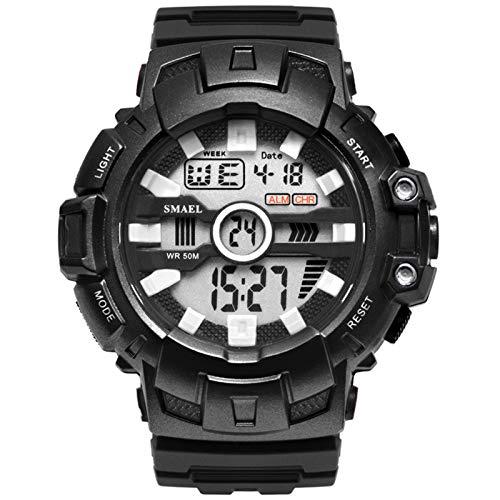 Adisaer Armbanduhr Männer Outdoor Wasserdicht Herrenuhr Schwarz Outdoor Sportuhr Armbanduhr Automatikuhr