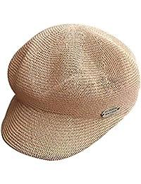 Gorros Damas Sombrero para El Sol Ocio Sombrero De Verano Bastante Elegante  Paja Sombrero De Paja Sombrero De Playa Sombrero Holgado… 0b074804bf9