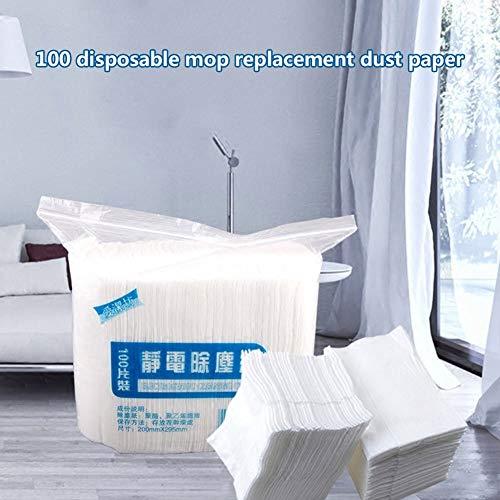 Wqeew - 100 Trapos Limpieza Desechables electrostáticos