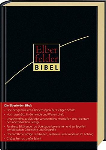 Elberfelder Bibel - Großausgabe, Leder, Goldschnitt