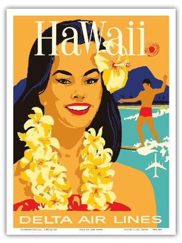 delta-air-lines-hawaii-hawaiian-island-girl-wearing-a-flower-lei-and-a-surfer-vintage-hawaiian-trave