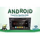 Android 6.0Quad Core GPS Auto-DVD Play 17,8cm GPS Auto-DVD-Player für Opel Astra Vectra Zafira Antara Corsa Radio Navigation Stereo Audio- und Video Farbe schwarz Kostenloser Kamera-& CANBUS