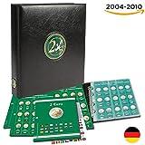 SAFE 7341-B1 - Classeur monnaie 2 euros émises de 2004 à 2010 - Album de pièces de monnaie en euro - Classeur pieces de monnaie avec 6 feuilles 7393 pour 90 pièces