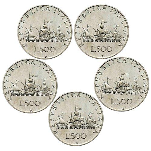 ac0b5a3105 Italia 500 lire Argento
