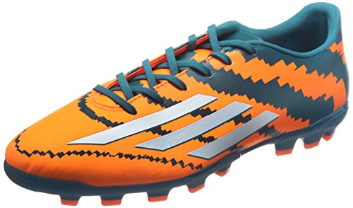 Adidas Performance Messi 10.3 Ag, Football Compétition Homme Multicolore (power Teal F14/ftwr White/solar Orange)