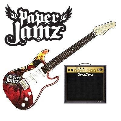 GIG 01493 CHITARRA ROCK PAPER JAMZ CON AMPLIFICATORE