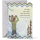Hallmark Mahogany Birthday Greeting Card to Father (Father and Child)