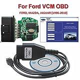 Câble de système de diagnostic embarqué - Interface de diagnostic Ford VCM OBD Focom - Pour Ford, Mazda, Jaguar - Version mini du dispositif de scan VCM IDS OBD2