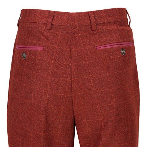 Xposed Herren Weste * One size Trouser-Maroon