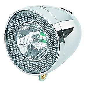 Prophete/6028 rétro phare lED 15 lux avec interrupteur marche/arrêt intégré et lumotec-chrome