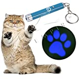 Pets Empire Interactive Exercise Led Training Funny Cat Play Toy Pointer Pen Interaction Toy Tool For Pet Dog ( Paw Shaped )1 Piece