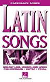 Die besten Hal Leonard Corporation Hal Leonard Hal Leonard Corporation Hal Leonard Corp. Hal Leonard Hal Leonard Hal Leonard Guitar Instruction Books - Latin Songs: Melody Line, Chords and Lyrics Bewertungen