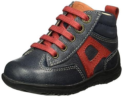 Aster Track, Chaussures Premiers pas bébé garçon, Bleu (Marine), 22