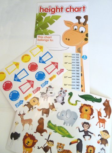 Children's Height Chart with ove...