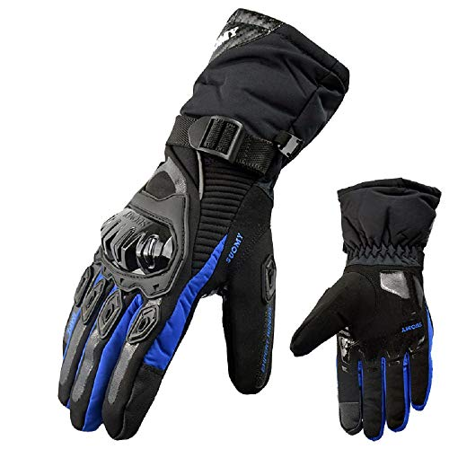 Guanti Guanti Da Donna Guanti Palestra Warm Motorcycle Gloves 100% Waterproof Windproof Touch S