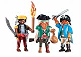 Playmobil - 6434 - 2 Pirates et Femme Pirate - ...
